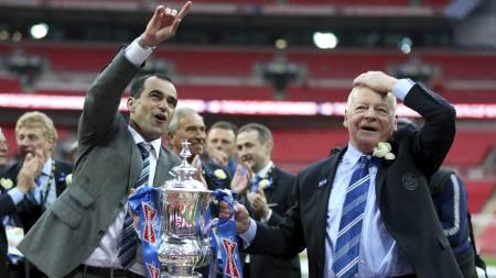 PÅ VEI TIL EVERTON?  Roberto Martinez rapporteres å være på vei til Everton. (Foto: Anthony Devlin/Pa Photos)
