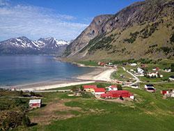 Lengter du etter varme sandstrender? Dra til Grøtfjord! (Foto: Egil Pettersen)