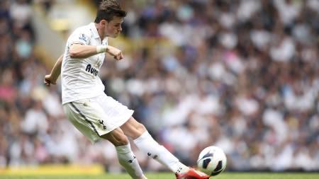 VENSTREFOTEN: Gareth Bale og Cristiano Ronaldo kan utgjøre en dødelig frisparkduo for Real Madrid neste sesong. (Foto: Stephen Pond/Pa Photos)