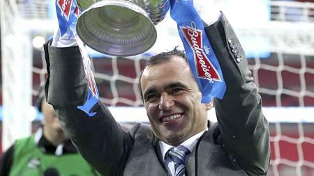 Roberto Martinez, FA-cup mester. (Foto: Dave Thompson/Pa Photos)