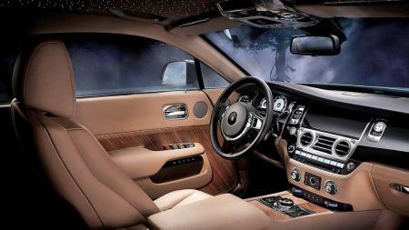 Rolls Royce vet hvordan de skal skape en helt egen stemning også innvendig ...