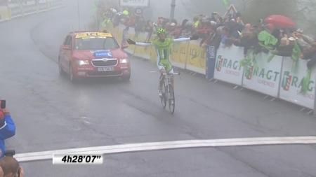ENSOM MAJESTET: Alessandro De Marchi vant den siste etappen i Critérium du Dauphiné.