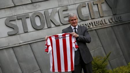 Mark Hughes, Stoke City manager. (Foto: DARREN STAPLES/Reuters)