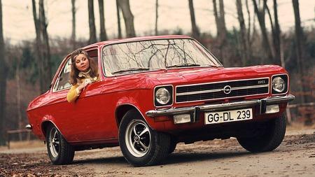Opel Ascona A, når så du en fin slik sist?