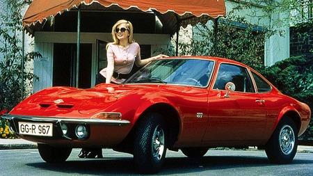 Tøff! Opel 1900 GT fra 1969.