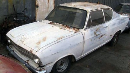 Opel-Kadett-vrak (Foto: craigslist.org)