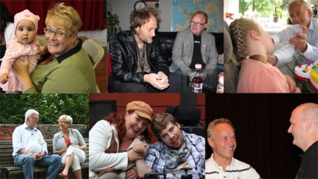 Trine Skei Grande, Per Sandberg, Knut Storberget, Liv Signe Navarsete, Dagrun Eriksen og Jan Tore Sanner er de seks politikerne som flytter inn hos forskjellige mennesker med ulike utfordringer.