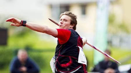 ÅRSBESTE: Andreas Thorkildsen kastet bra i Florø. (Foto: Grøtt, Vegard/NTB scanpix)