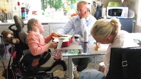Knut Storberget har fremdeles kontakt med familien Sjøberg.