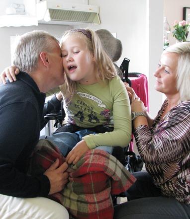 - Barnet, og hvor mye livskvalitet hun utstrålte, gjorde størst inntrykk på meg, sier Knut Storberget etter å ha tilbrakt fire dager med familien Sjøberg som har en datter med sterk funksjonsnedsettelse.