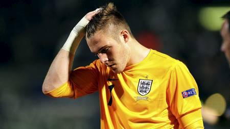 FLAU: Jack Butland innrømmer at Englands EM-innsats var pinlig. (Foto: Adam Davy/Pa Photos)