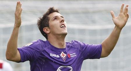 VIL HA SVAR: Stevan Jovetic vil til Juventus, men foreløpig har ikke noe skjedd.