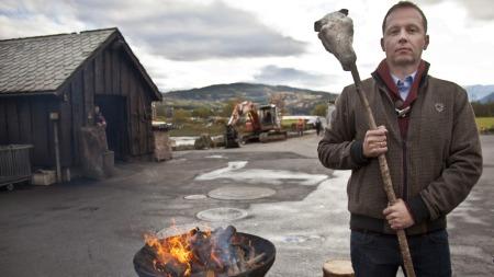 Andreas Viestad i En bit av Norge (Foto: Erik Roed)