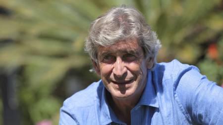 FØRSTE INTERVJU: Manuel Pellegrini til klubbens egen TV-kanal. (Foto: Sharon Latham/Pa Photos)