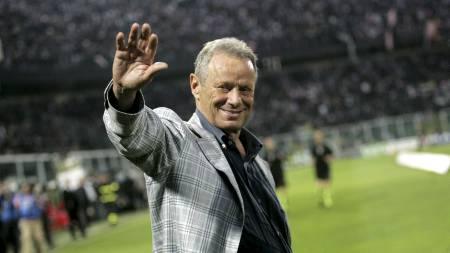 Palermo-president Maurizio Zamparini. (Foto: MARCELLO PATERNOSTRO/Afp)