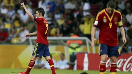 David Villa (Foto: PILAR OLIVARES/Reuters)