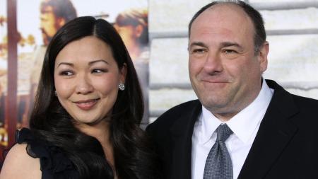 James Gandolfini med kona Deborah Lin (Foto: Danny Moloshok/Reuters, ©DM/mel/HK)