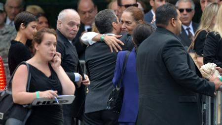 James Gandolfinis begravelse (Foto: STAN HONDA/AFP Photo, ©dre/ljm)