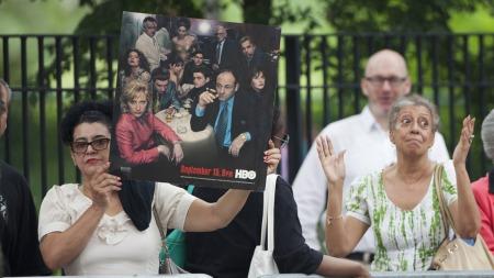 James Gandolfinis begravelse (Foto: CARLO ALLEGRI/Reuters, ©CA/DL)