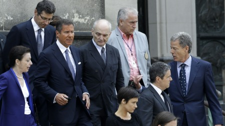 James Gandolfinis bisettelse (Foto: Julio Cortez/Ap Photo, ©JC CL**NY**)