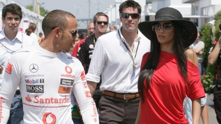 Lewis Hamilton og Nicole Scherzinger (Foto:   Charles Guerin/Pa Photos, ©CG)