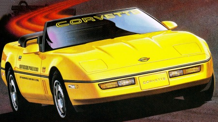Litt ut i modellåret 1986 gjorde kom endelig en åpen versjon på markedet igjen, etter 10 års opphold. En gul utgave ble valgt som pace car i Indy 500 det året, og for enkelhets skyld ble samtlige produserte betegnet som pace car replikaer - uavhengig av farge.
