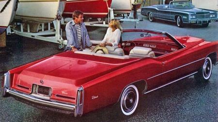 1976 var på forhånd annonsert som det siste året for den åpne versjonen av Cadillacs Eldorado. Det skapte en hype av de sjeldne, som GM tjente stort på: Hele 14.000 ble bygget det året, opp fra drøyt 8.000 i 1975. Svært mange har overlevd - og kommet til Norge de siste årene.