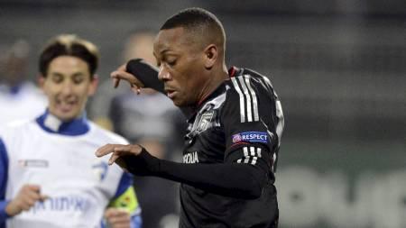 TALENT: Monaco har sikret seg den 17 år gamle spissen Anthony   Martial fra Lyon. (Foto: PHILIPPE MERLE/Afp)