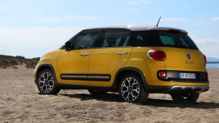 Fiat  hentet fram velkjente offroad-triks når de designet 500L Trekking. Blant dem