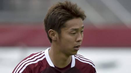 ØNSKET AV VILLA: Hiroshi Kiyotake står øverst på Aston Villas   ønskeliste. (Foto: GUENTER SCHIFFMANN/Afp)