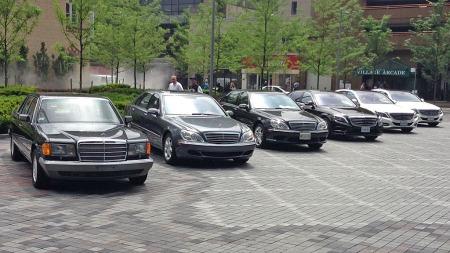 Nye tider møter gamle når Mercedes inviterer til verdenslansering av S-klasse. Dette har forlengst blitt et ikon innen bilverdenen - nå er det klart for sjette generasjon.