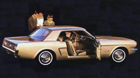 Mustangen fikk mange til å sperre opp øynene da den kom som en sen