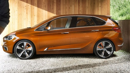 BMW fortsetter å gi oss smakebiter på kommende 1-serie GT. Denne konseptutgaven heter Active Tourer Outdoor Concept.