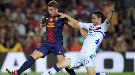STJERNESKUDD: Gerard Deulofeu regnes som et av Barcelonas største talenter. (Foto: LLUIS GENE/Afp)