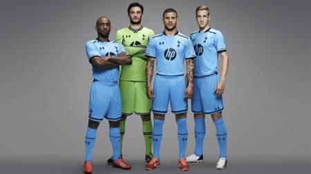 Spurs nye bortedrakter (Foto: http://www.tottenhamhotspur.com/)