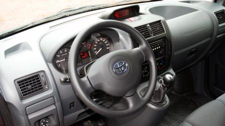 Toyota-Proace-Dashbord (Foto: Benny Christensen)