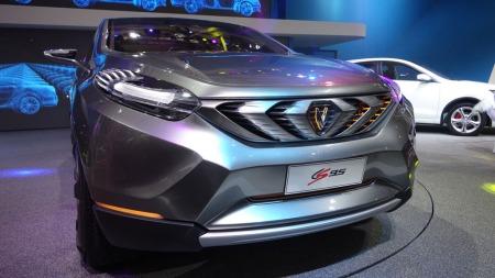 Changan har gitt sin CS95 en karakteristisk og ganske så aggressiv front. Også på design har de kinesiske bilprodusentene hevet seg kraftig de siste årene.