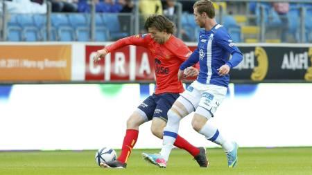 MØTTE MOLDE: Viking spilte lørdag ettermiddag mot Molde på Aker Stadion. (Foto: Svein Ove Ekornesvåg/NTB scanpix)