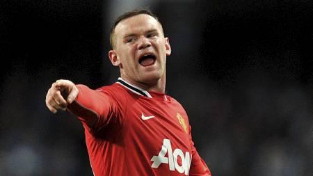 FORBANNET: Wayne Rooney er forbannet på Manchester United og har ingen planer om å spille for klubben neste sesong. (Foto: Martin Rickett/Pa Photos)