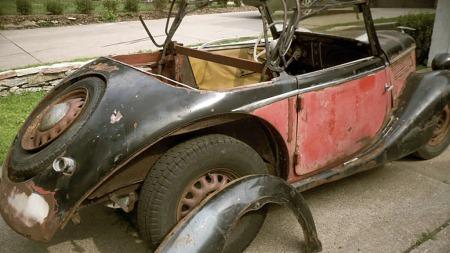 Det kreves en del jobb for å sette denne i stand igjen (Foto:   eBay)
