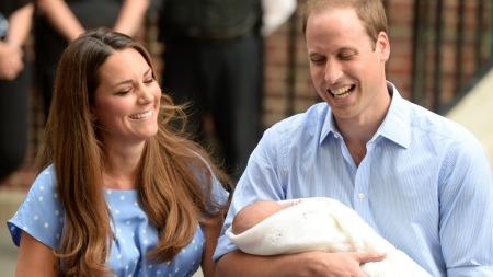 KONGELIG NAVN: Prinsen av Camebridge heter George Alexander Louis. (Foto: Doug Peters/Pa photos, ©Doug Peters)