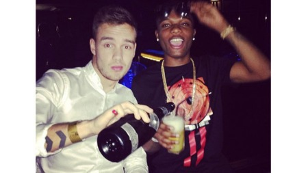 Liam Payne fra One Direction spanderte en champisflaske til 11 millioner kroner på kompisen i anledning hans 24-årsdag.