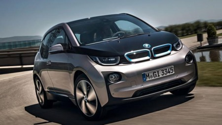 Slik vil den helt nye modellen til BMW se ut. i3 blir startens på BMWs elbilsatsning - og omtales som