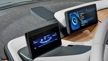 00 BMW i3 skjermer