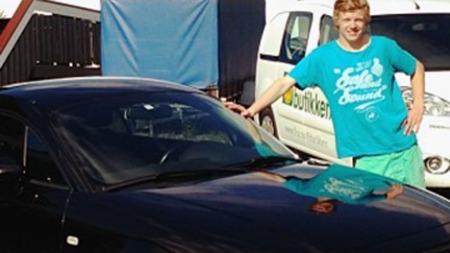 Å kjøpe bil usett med få minutter å bestemme seg på er ikke alltid heldig. Men i dette tilfellet gikk det bra, understreker den fornøyde eieren. (Foto: Privat)
