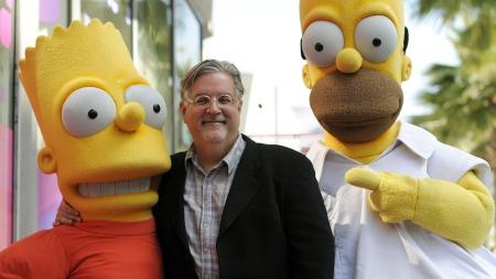 Matt   Groening og The Simpsons (Foto: Chris Pizzello/AP photo, ©CP   CL**NY** DG**NY**)
