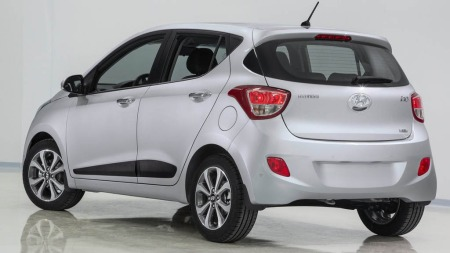 Hyundai i10 bakfra
