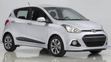 Hyundai i10 forfra
