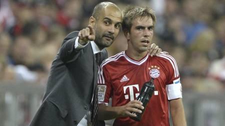 SEIER: Pep Guardiola ledet Bayern München til seier i serieåpningen. (Foto: CHRISTOF STACHE/Afp)