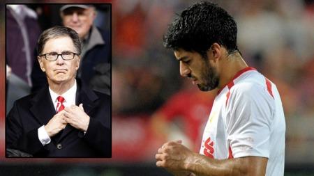 VIL IKKE SELGE: Eier av Liverpool, John Henry sier Luis Suarez ikke er til salgs til noen som helst klubb, til noen som helst pris.  (Foto: Afp)